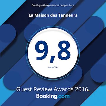 Booking Guest Review Awards 2016 - 9,8 / 10